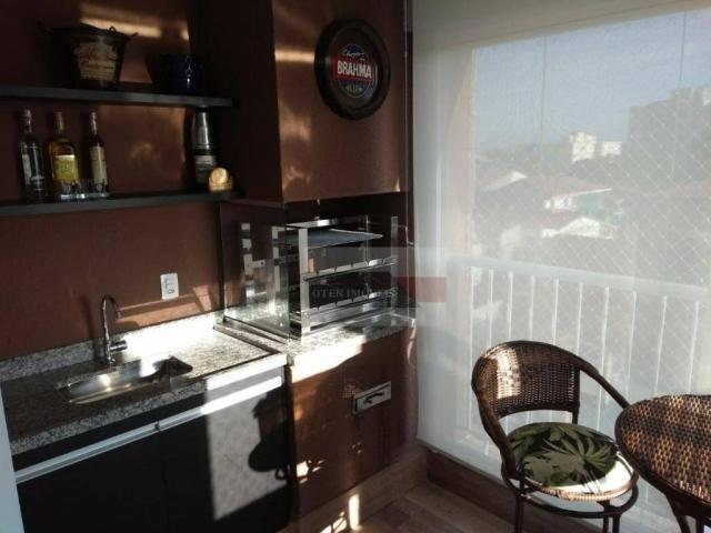 Apartamento com 2 dormitórios à venda, 75 m² por r$ 450.000 - jardim das indústrias - são  - Foto 7