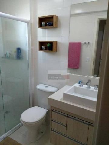 Apartamento com 2 dormitórios à venda, 75 m² por r$ 450.000 - jardim das indústrias - são  - Foto 11