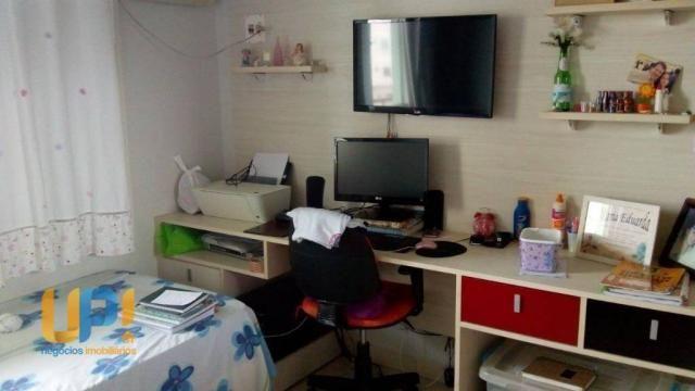 Apartamento com 3 dormitórios à venda, 107 m² por R$ 520.000 - Morada do Sol - Rio Branco/ - Foto 6