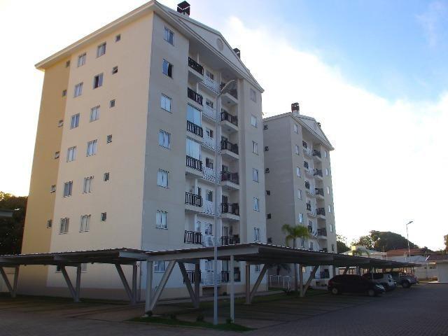 Apartamento 02 dormitórios mobiliado praia do Quilombo - Foto 2