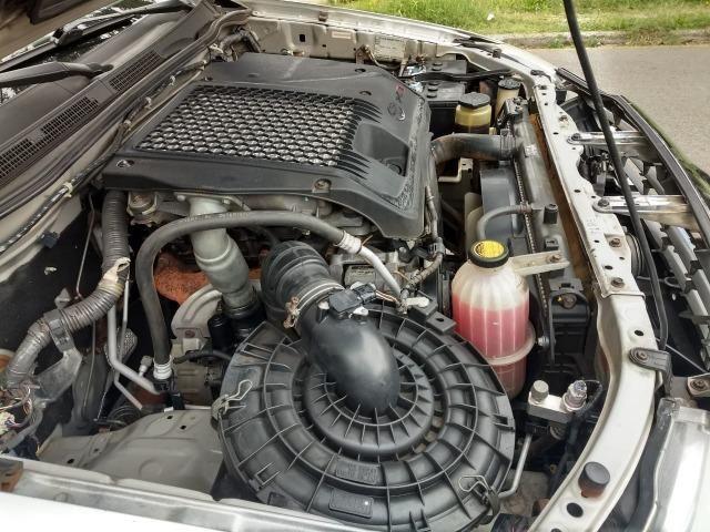Toyota Hilux 3.0 SRV 4X4 CD 16v Turbo Itercooler, 171cv, cor prata, ano 2012 - Foto 12