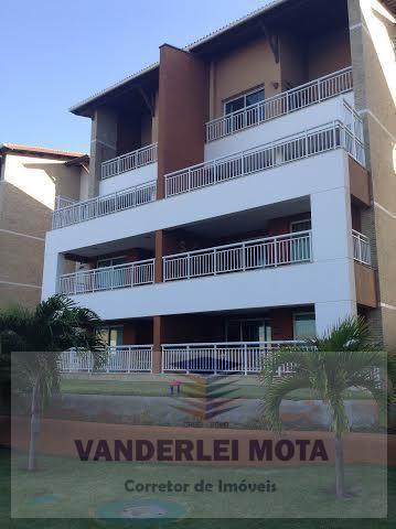 Cobertura para venda em aquiraz, porto das dunas, 4 dormitórios, 2 suítes, 4 banheiros, 3