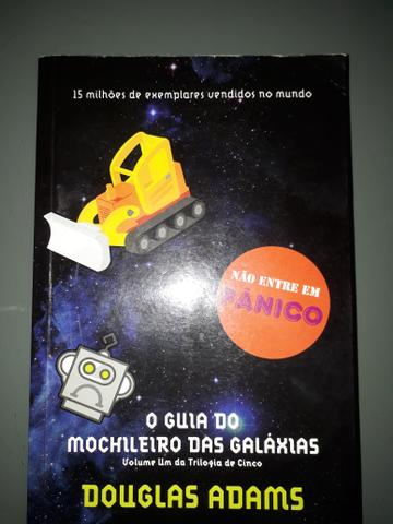 O Guia do Mochileiro das Galáxias- Douglas Adams