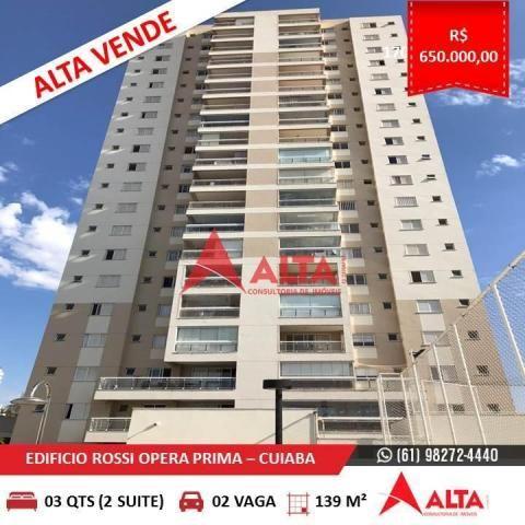 Apartamento à venda com 4 dormitórios em Santa rosa, Cuiabá cod:259