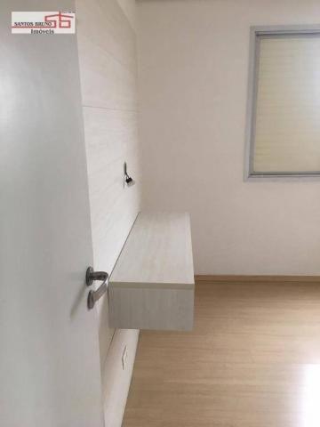 Apartamento com 3 dormitórios para alugar, 80 m² por R$ 2.200/mês - Barro Branco (Zona Nor - Foto 16