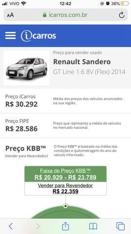 Carro sandero gt line - Foto 6