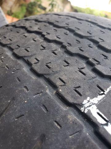Rodas Hilux aro 16 com pneus - Foto 4