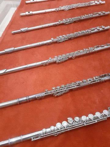 Flautas Shelter,Eagle, Artley, Armstrong e outras - Foto 5