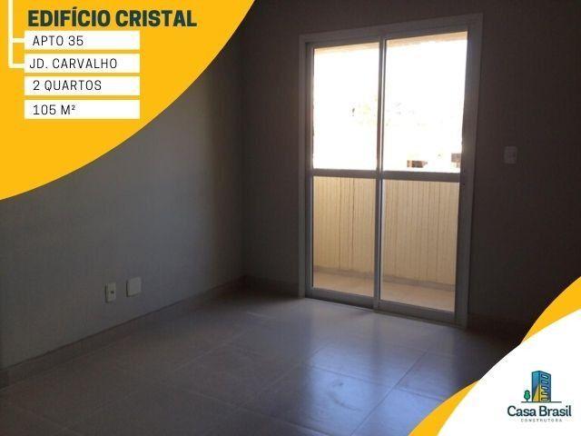Apartamento com 2 quartos e 2 vagas para alugar em Ponta Grossa - Jardim Carvalho - Foto 7