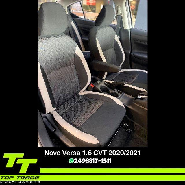 Novo Nissan Versa Advance 1.6 CVT 2021 0km - Foto 4