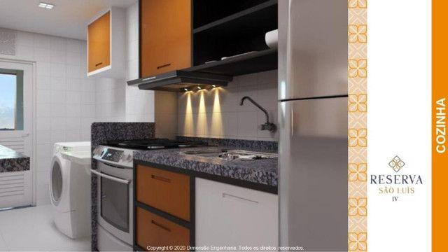 Apartamento com 2 quartos/ Reserva são luis - Foto 4