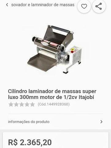 Cilindro de massa laminador industrial - Foto 5