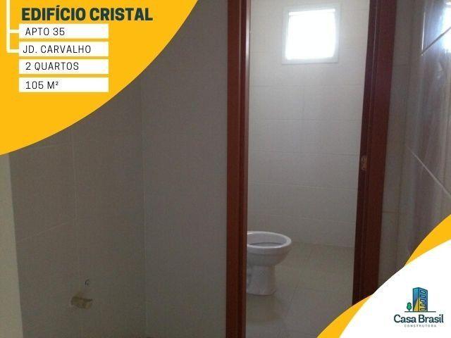 Apartamento com 2 quartos e 2 vagas para alugar em Ponta Grossa - Jardim Carvalho - Foto 14