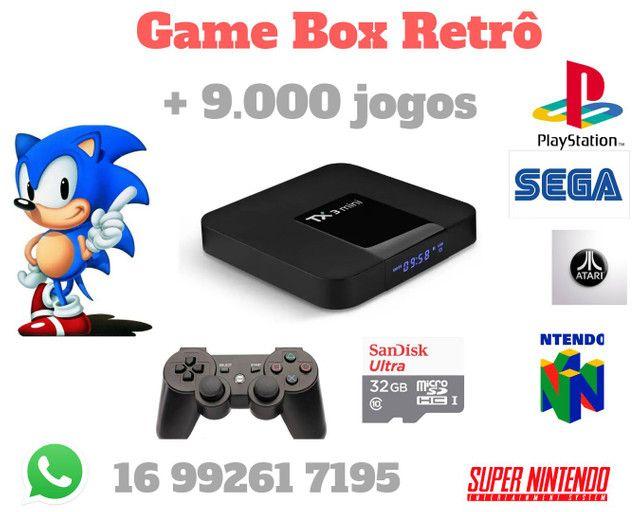 Game Box 9.000 jogos Tx3