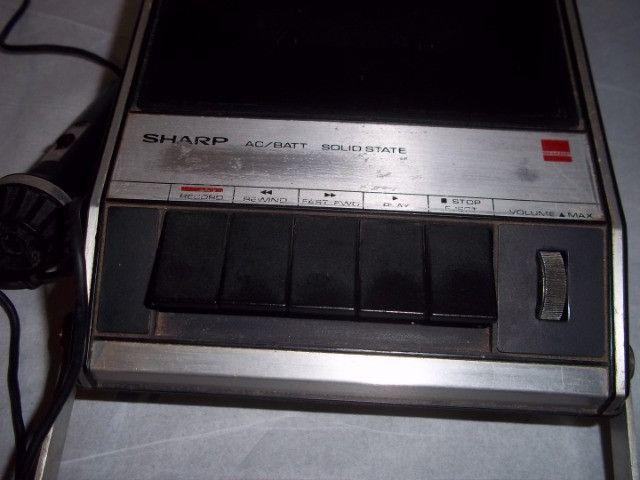 Gravador de Fita Cassete Sharp RD-429X - Foto 2