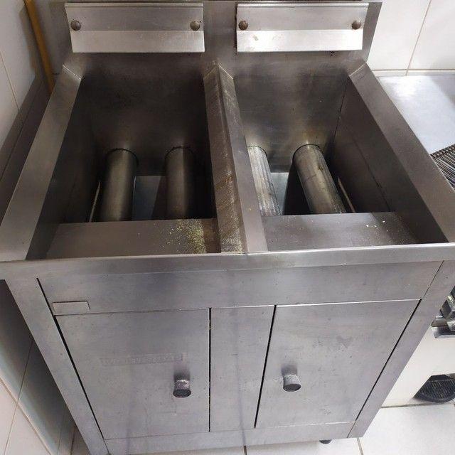Vendo Fritadeira a gás - Foto 3