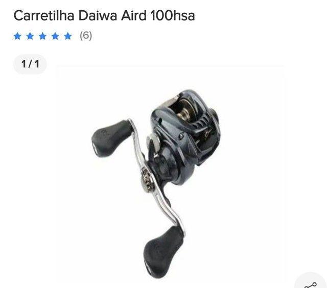 Carretilha Daiwa Aird 100hsa