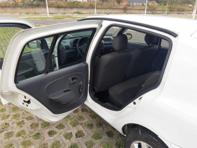 Renault Clio Expression Completo 1.0 4p 2014 Branco Novo Demais Excelente Carro - Foto 14