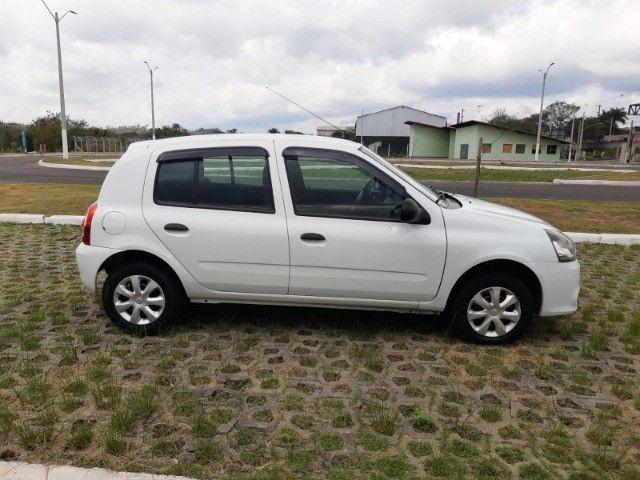 Renault Clio Expression Completo 1.0 4p 2014 Branco Novo Demais Excelente Carro - Foto 4