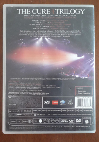 The Cure Triology DVD - Foto 2