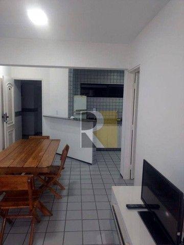 Apartamento Mobiliado com 1 dormitório para alugar, 58 m² - Manaíra - João Pessoa/PB - Foto 11