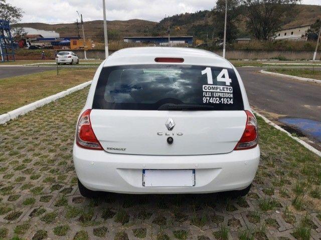 Renault Clio Expression Completo 1.0 4p 2014 Branco Novo Demais Excelente Carro - Foto 6