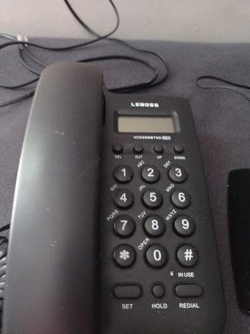 Vendo 3 telefones com identificador de chamadas - Foto 4