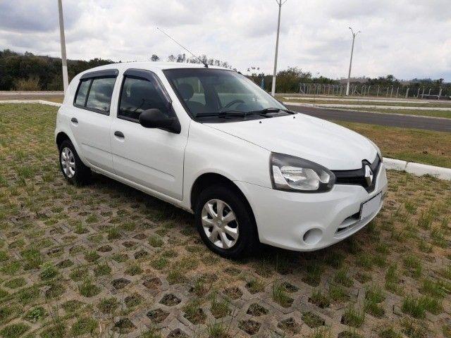 Renault Clio Expression Completo 1.0 4p 2014 Branco Novo Demais Excelente Carro