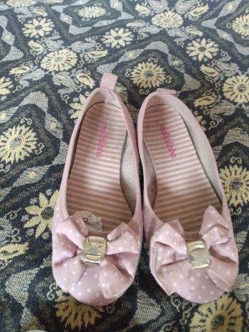 Vendo lote de sapatos pra menina