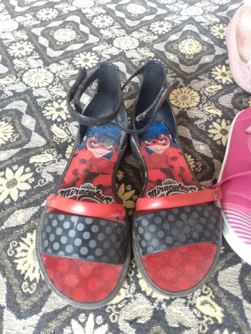 Vendo lote de sapatos pra menina  - Foto 6