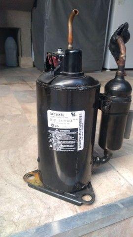 Placa e compressor de ar condicionado LG - Foto 2