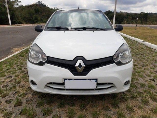 Renault Clio Expression Completo 1.0 4p 2014 Branco Novo Demais Excelente Carro - Foto 5