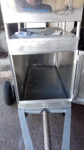 Carro para assar frango, churrasco - Foto 2