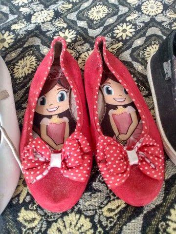 Vendo lote de sapatos pra menina  - Foto 3