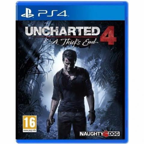 Uncharted 4. PS4. Midia Fisica. Excelente estado