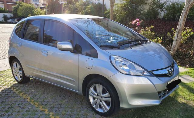Honda Fit EX 2013 Flex Cor:Prata 40.000Km - Foto 5