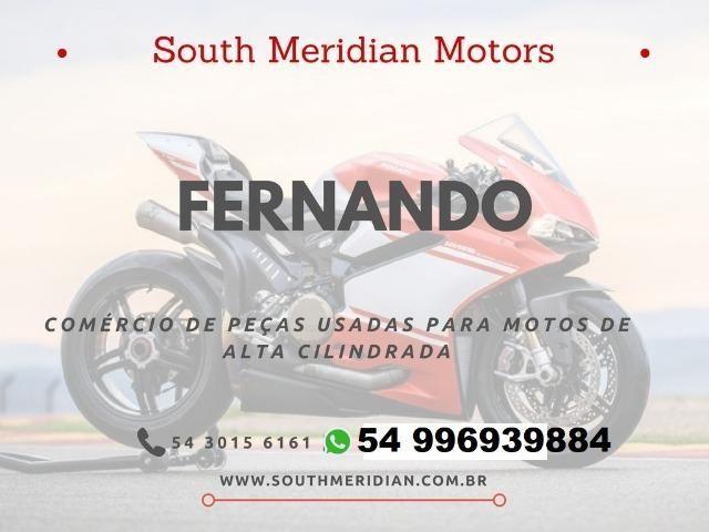 Moto Para Retirada De Peças/Sucata CBR 1000 RR Vermelha Ano 2006 - Foto 6