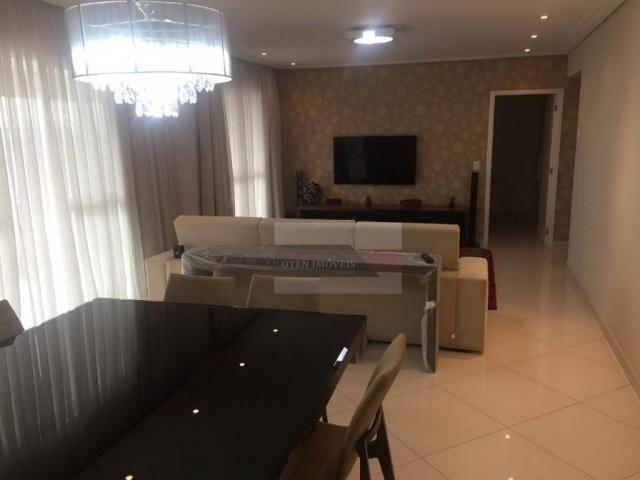 Apartamento com 3 dormitórios à venda, 156 m² por r$ 750.000,00 - jardim das indústrias -  - Foto 2