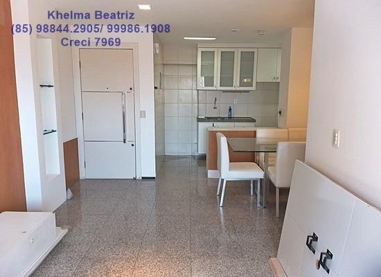 Apartamento. 72m², 2 suítes, closet, 2 vagas - Cocó - Foto 2