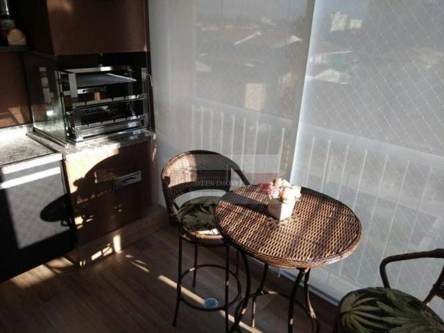 Apartamento com 2 dormitórios à venda, 75 m² por r$ 450.000 - jardim das indústrias - são  - Foto 15