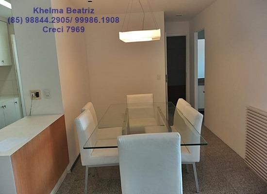 Apartamento. 72m², 2 suítes, closet, 2 vagas - Cocó - Foto 4