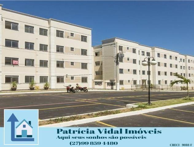 PRV-24 Apartamento 2 quartos lazer segurança 24hs, programa minha casa minha vida pronto - Foto 2