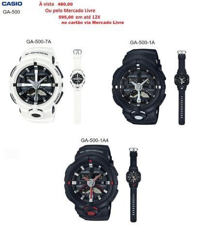81615b4e7f1 Relógio Original Casio G-Shock GA-700 NOVO com garantia de 1 ano ...