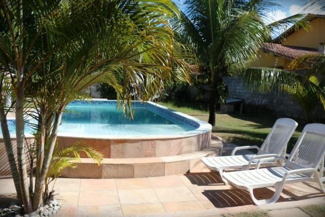 Novembro, feriado em casa de praia, com 5 quartos, piscina e churrasqueira - Foto 5