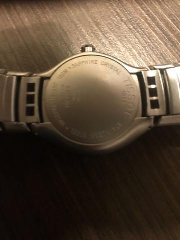 Relógio Tissot fundo Azul * Original * Aceito troca - Foto 5