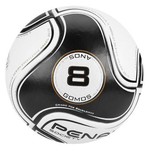 110ab91f2899c Bola Futebol Society Penalty Viii - Branco E Preto Nfe - Esportes e ...