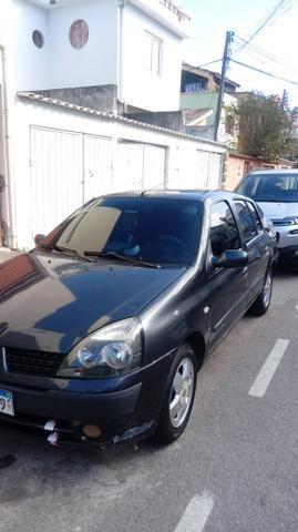 Clio sedan completo 03/04 todos doc desde zero muito inteiro doc ok com GNV - Foto 3
