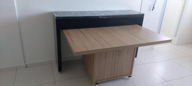 Apartamento para Venda em Uberlândia, Segismundo Pereira, 2 dormitórios, 1 banheiro, 1 vag - Foto 7