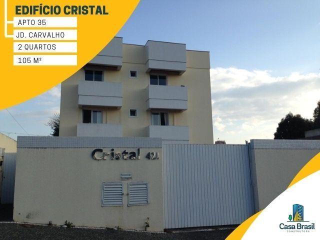 Apartamento com 2 quartos e 2 vagas para alugar em Ponta Grossa - Jardim Carvalho