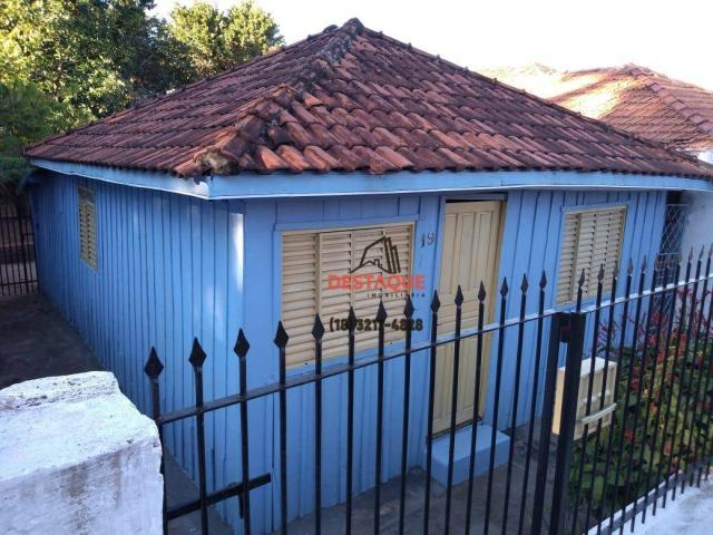 Casa com 3 dormitórios para alugar, 48 m² por R$ 450,00/mês - Vila Brasil - Presidente Pru